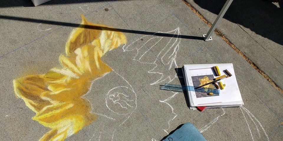 Chalk Art Workshop