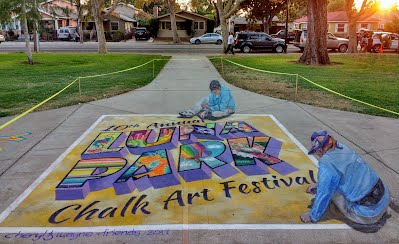 10th Annual Luna Park Chalk Art Festival